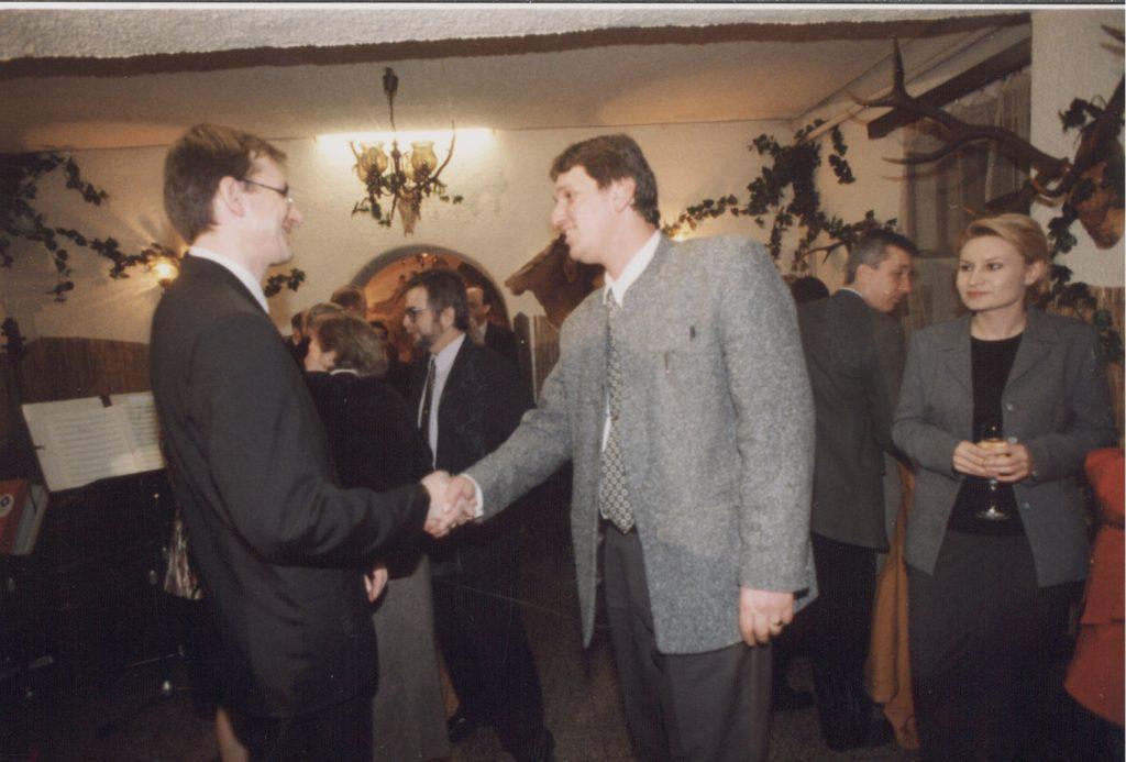 Petőcz Kálmán nagyköveti búcsúja (veľvyslanecká rozlúčka) alkalmából megrendezett fogadás.