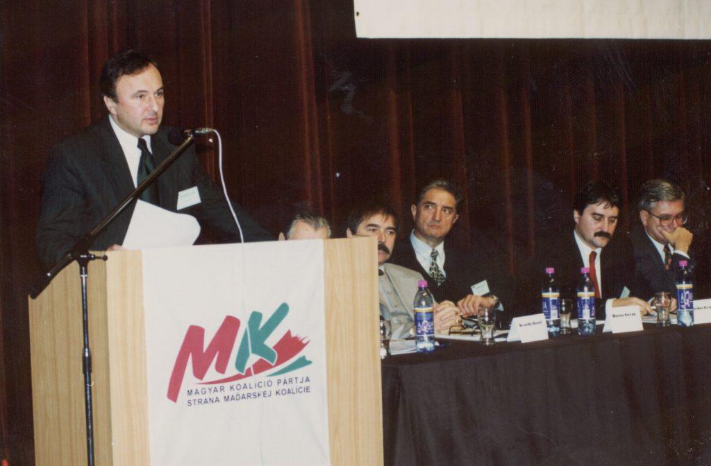 A Magyar Koalíció Pártja második tisztújító közgyűlése