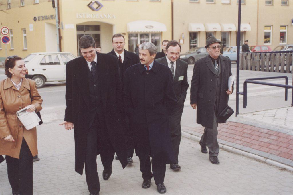 MKP III. kongresszusa. (a képen: Bugár Béla, Mikuláš Dzurinda, Csáky Pál)