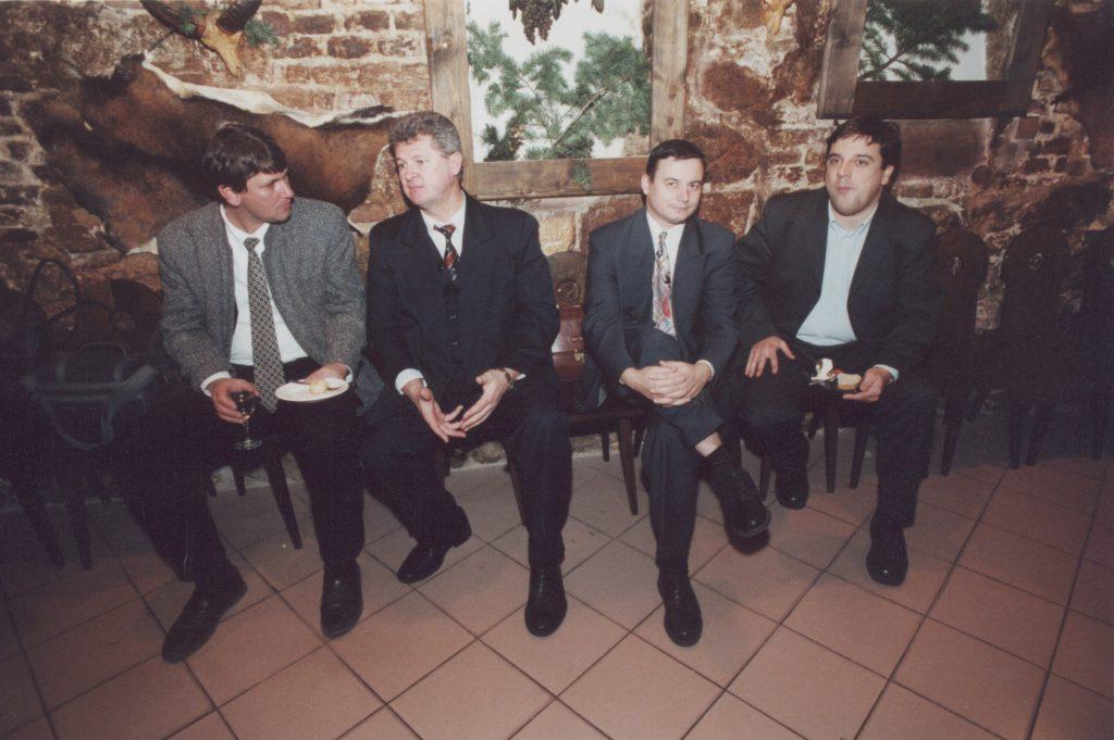 Az MKP galántai ülése.