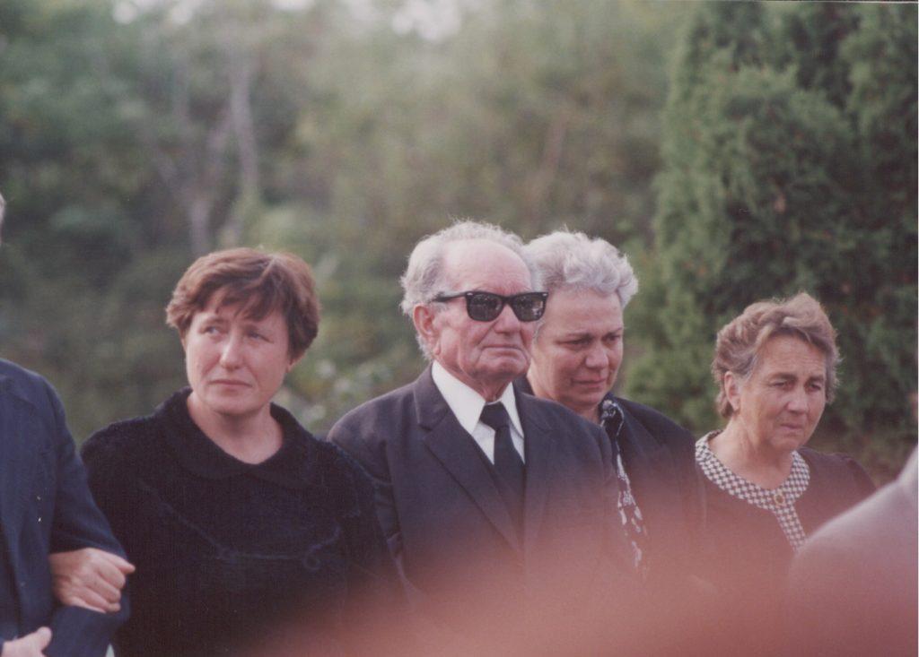 Csontos Vilmos temetése