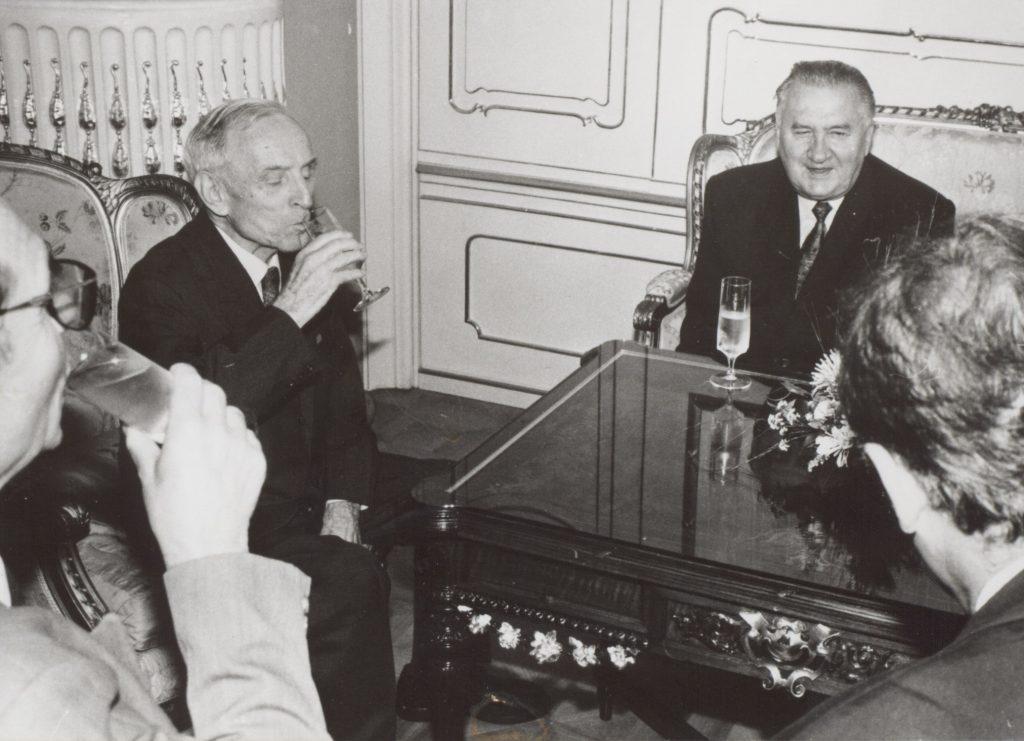 Michal Kováč fogadta a nyolcvanéves Turczel Lajost