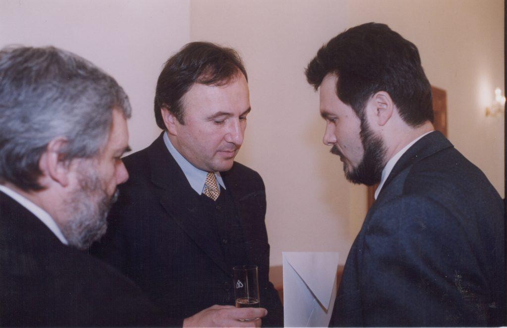 Miklósi Péter, Csáky Pál, Boros Miklós