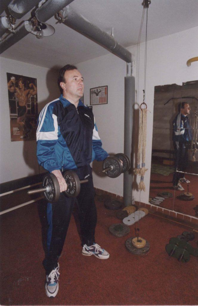Csáky Pál edzőteremben