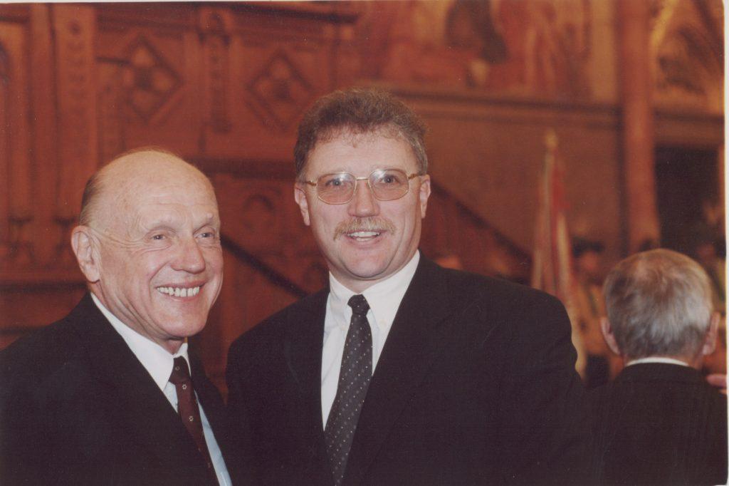 Esterházy János emlékünnepség az Országházban.