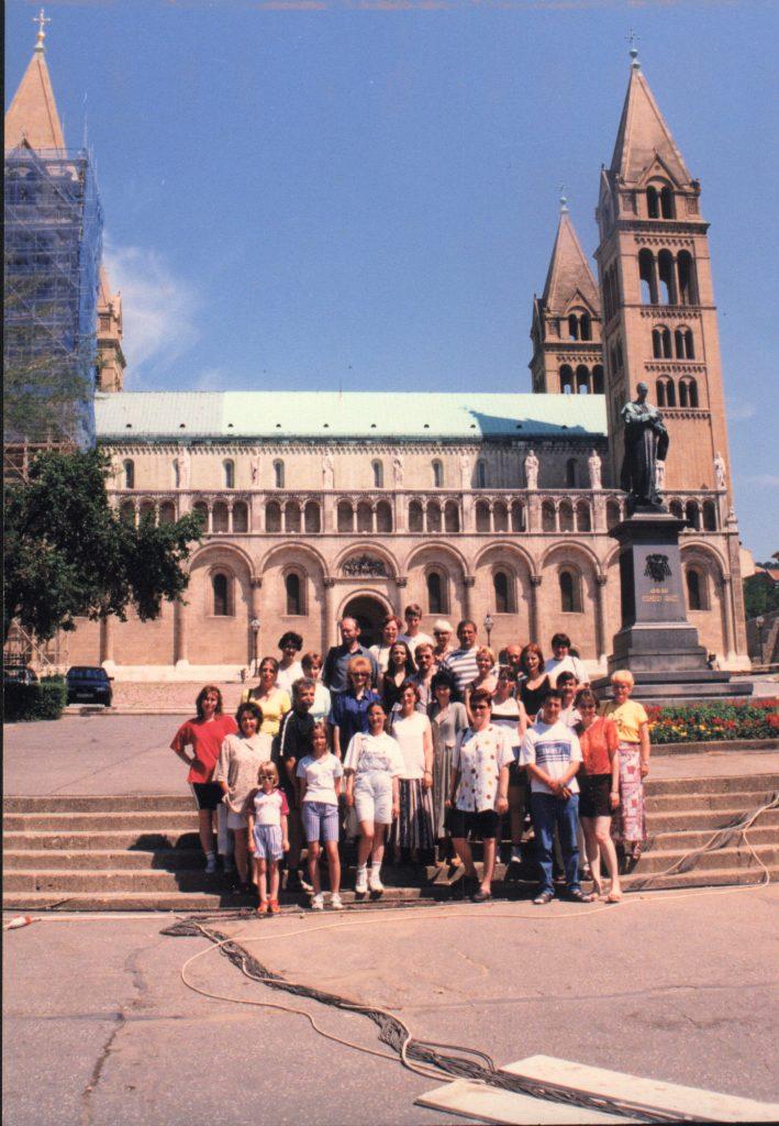 A Katedra Társaság pécsi kirándulása.