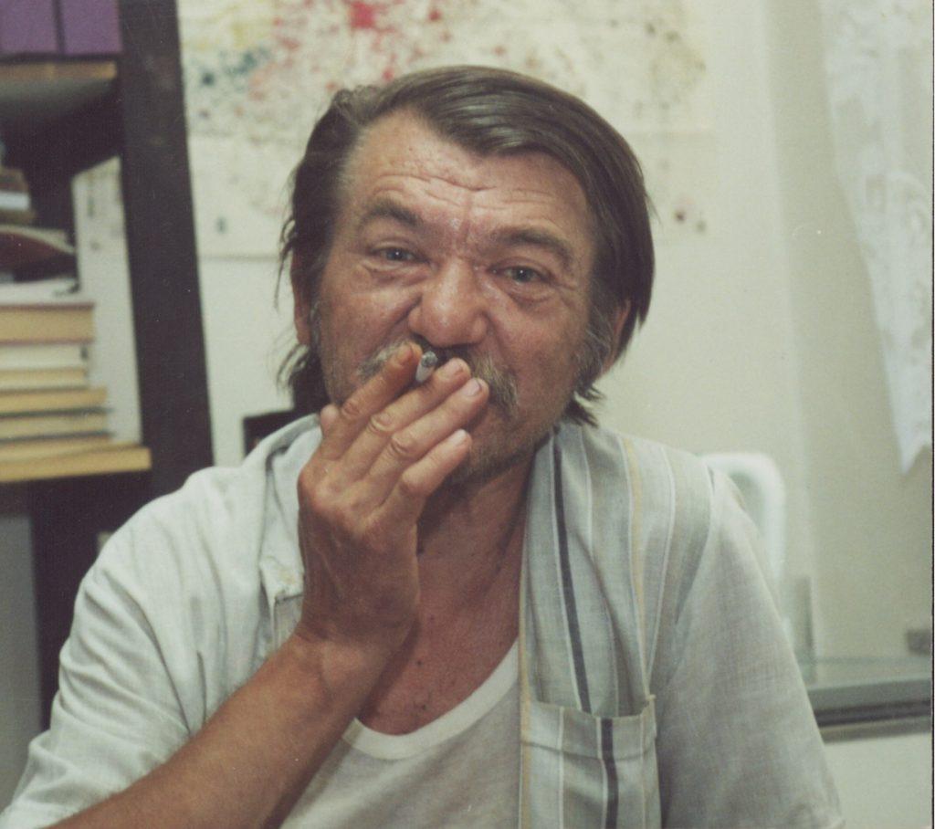 Sándor Anna könyvbemutatója. (a képen: Zalabai Zsigmond)