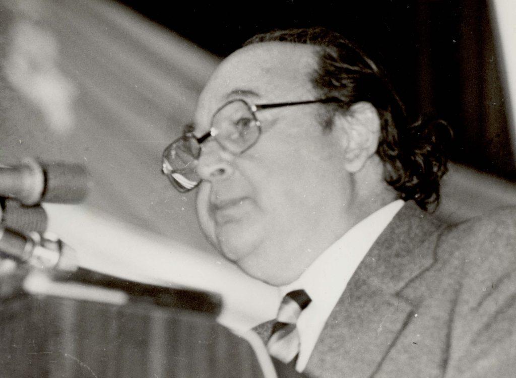 A CSEMADOK XIII. országos közgyűlése. (azonosítatlan felszólaló)