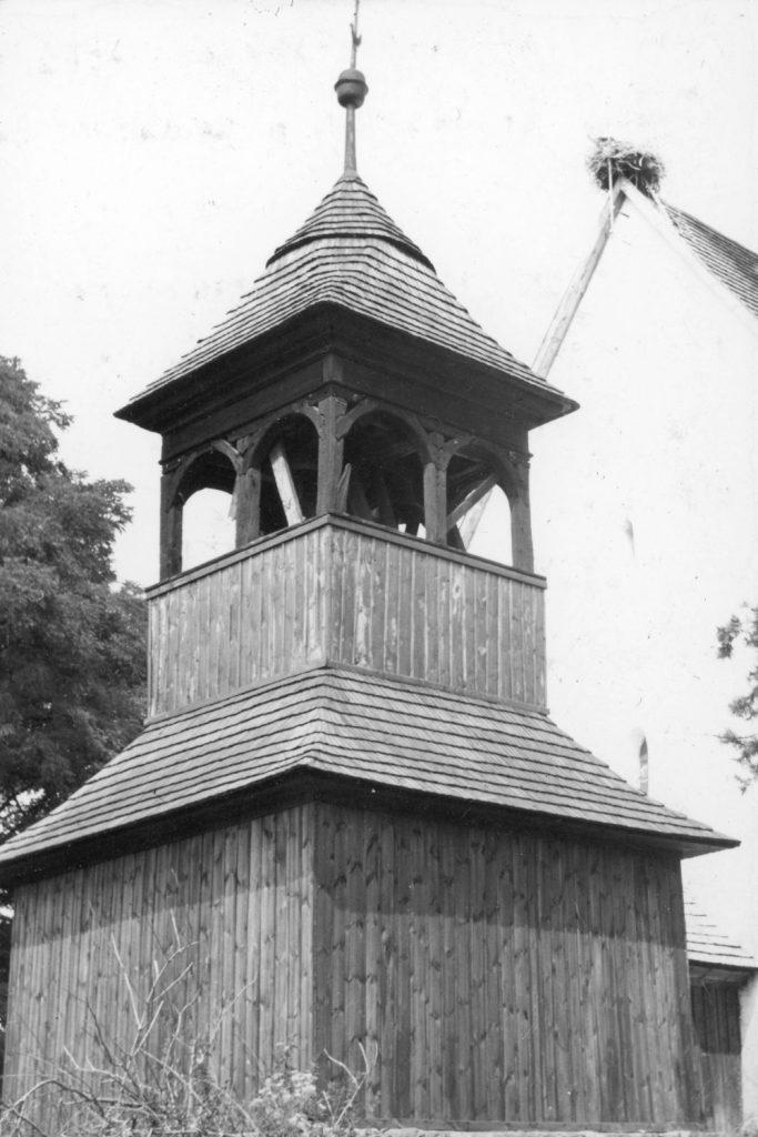 A zsípi református templom.