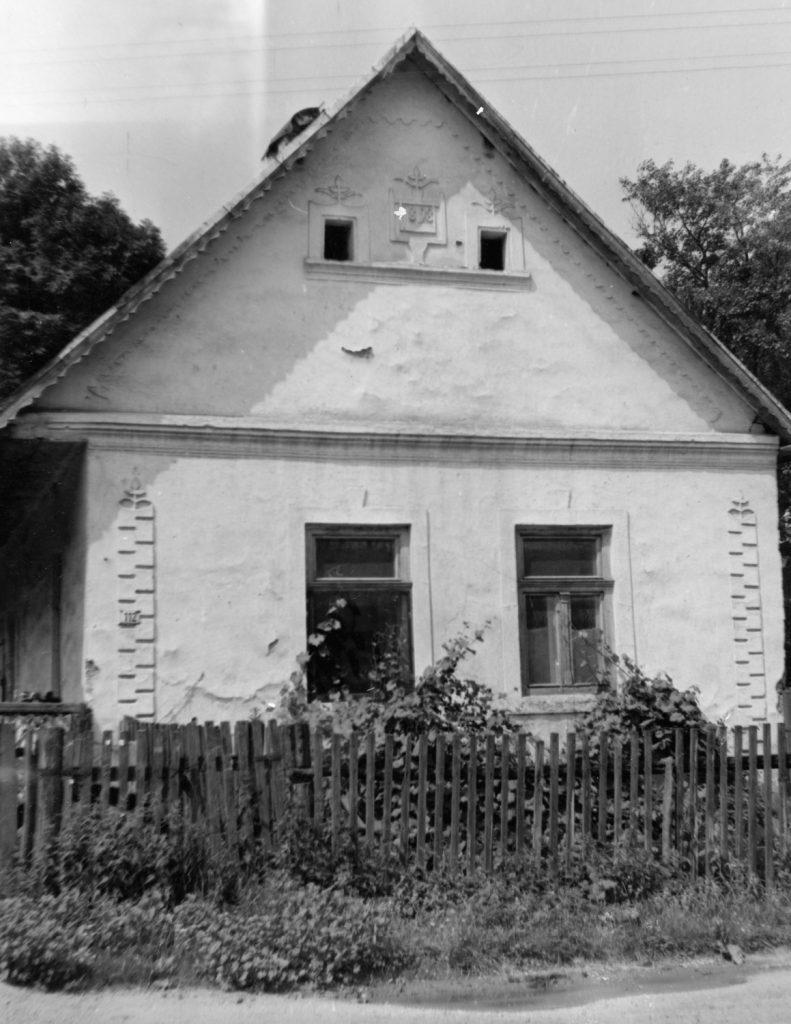 Régi falusi ház.