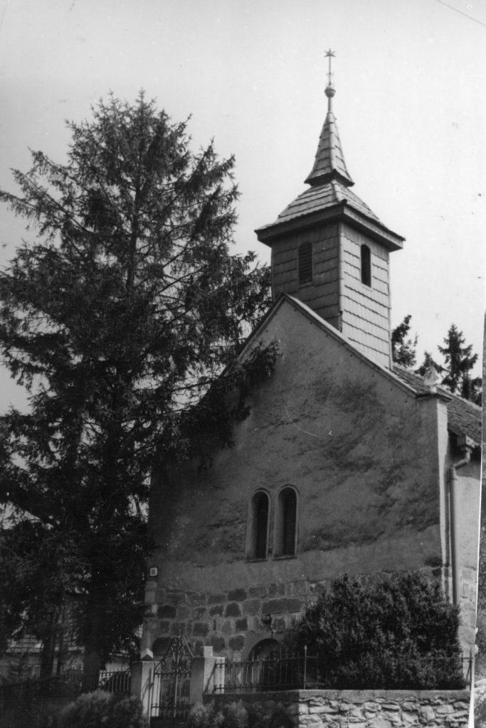 A borsi református templom.