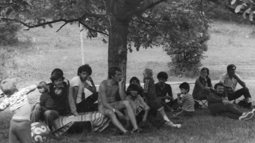 Ifj. Gazda István tudománytörténész előadása  a somodi táborban.
