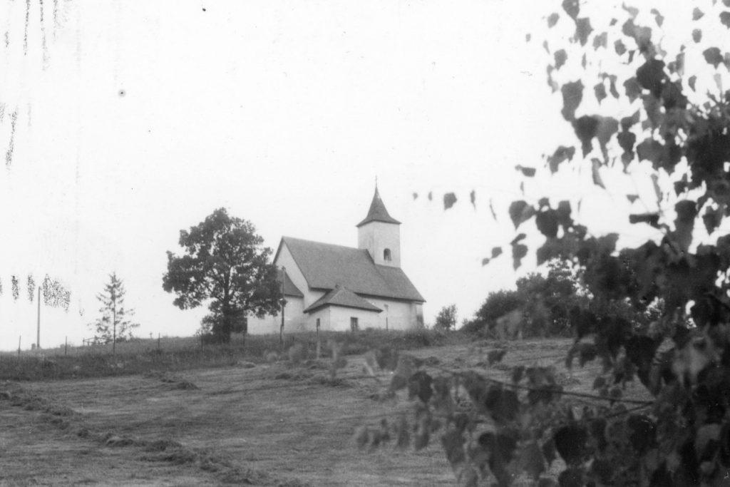 Az almágyi templom.
