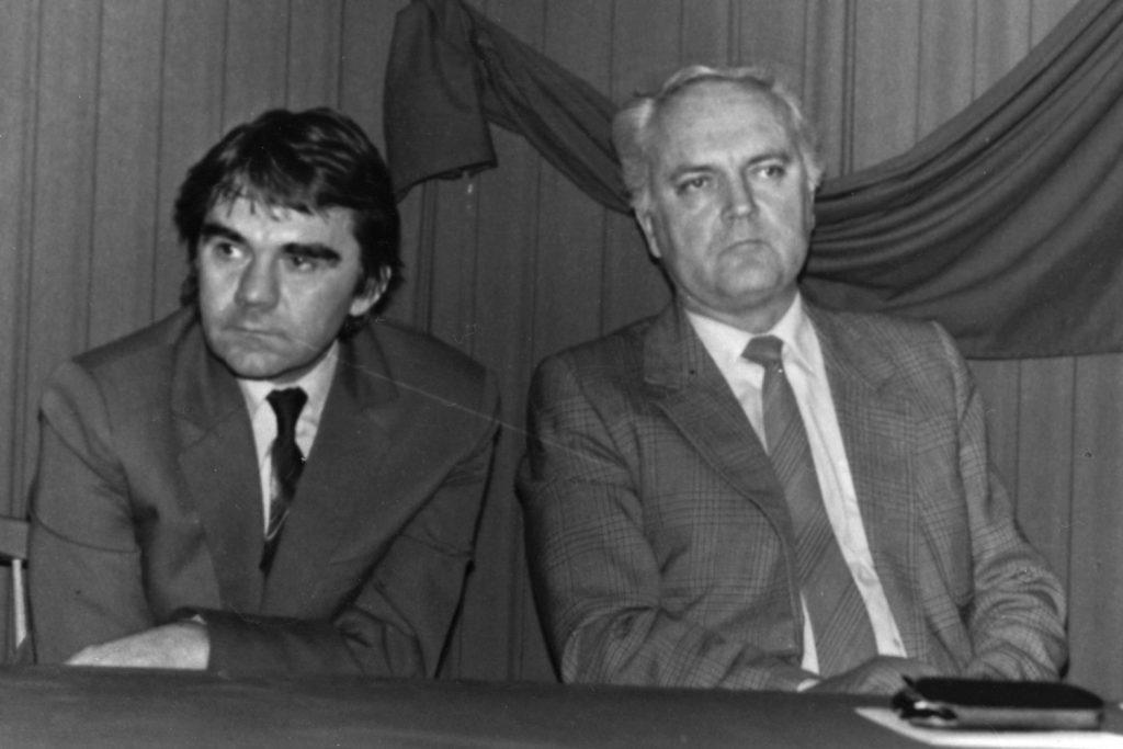 Gimesi György és Dobos László.