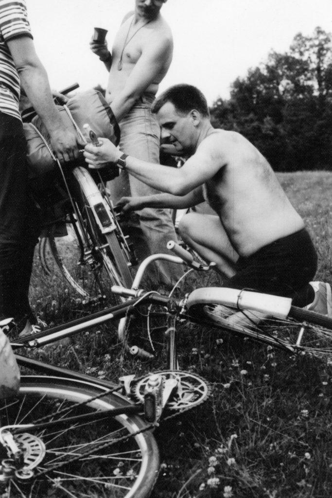 Kerékpár karbantartás.