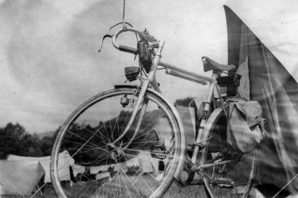 Hangulatképe a kerékpártúráról.
