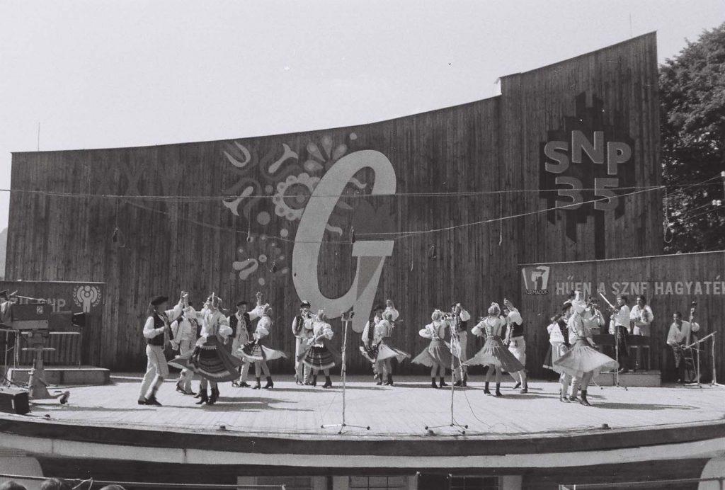 Zemplin Táncegyüttes (szlovák), Nagymihály. (vezetője: Hvizdák Vlado) (XXIV. Országos Kulturális Ünnepély)