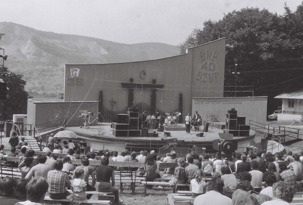 A Melódia '83 könnyűzenei verseny győzteseinek bemutatkozása. (XXIX. Országos Kulturális Ünnepély)