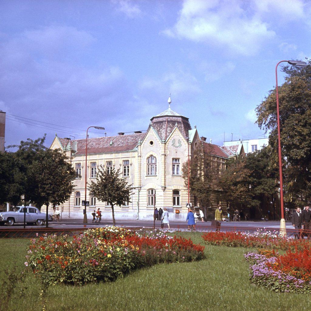 A dunaszerdahelyi Járásbíróság székháza.
