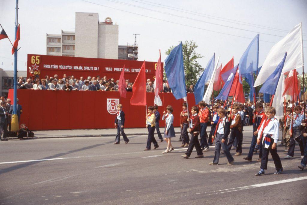 Csehszlovákia Kommunista Párt alakulásának (KSČ) 65. évfordulója.