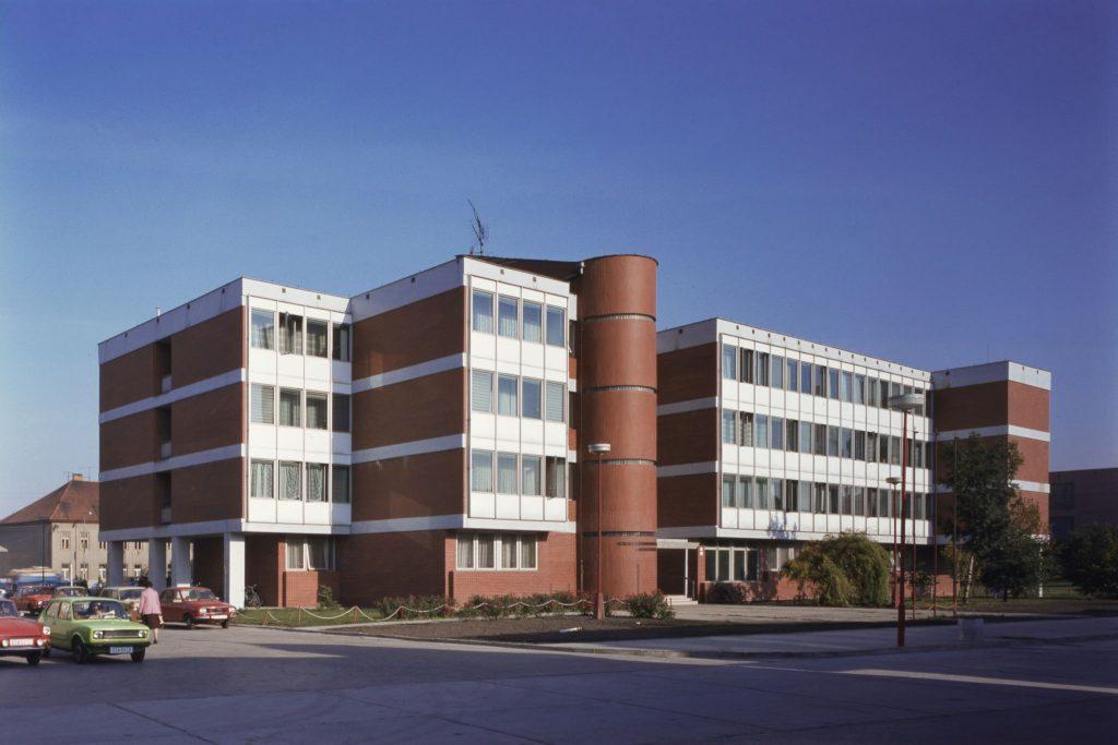 A dunaszerdahelyi Járási Hivatal épülete.