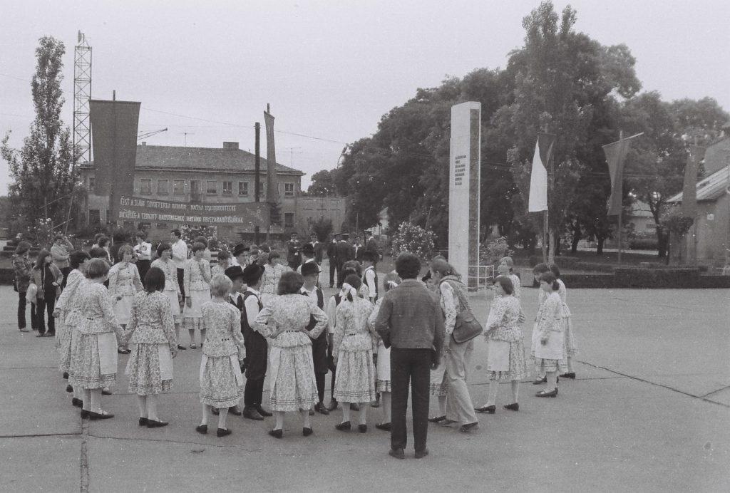 A dunaszerdahelyi gyerekek. (XXVI. Országos Népművészeti Fesztivál)
