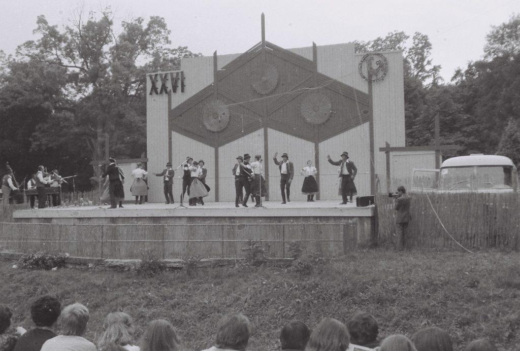 Ilosvai Táncegyüttes, Nagyida. (XXVI. Országos Népművészeti Fesztivál)