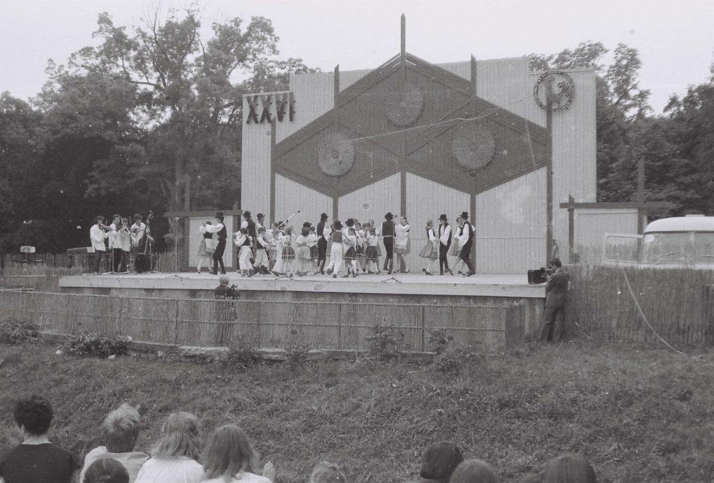 Tátika gyerektánccsoport, Ekel. (XXVI. Országos Népművészeti Fesztivál)