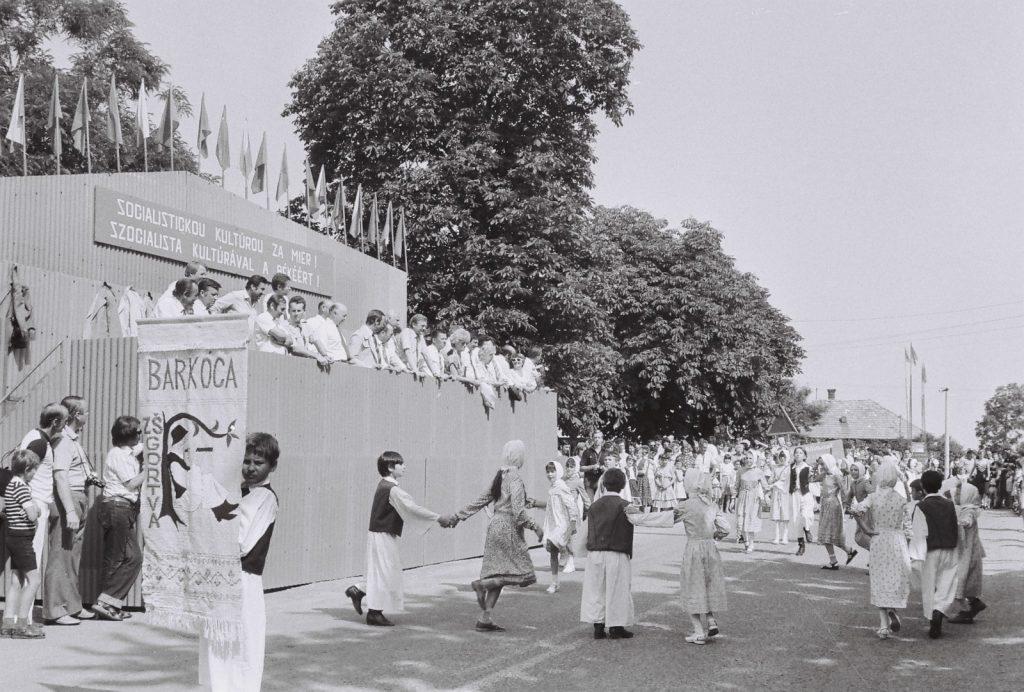 Barkóca Gyerektánccoport, Gortva. (XXVIII. Országos Népművészeti Fesztivál)