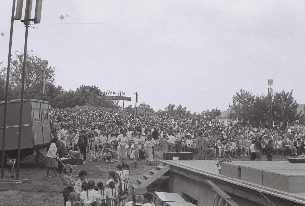 A közönség. (XXXII. Országos Népművészeti Fesztivál)