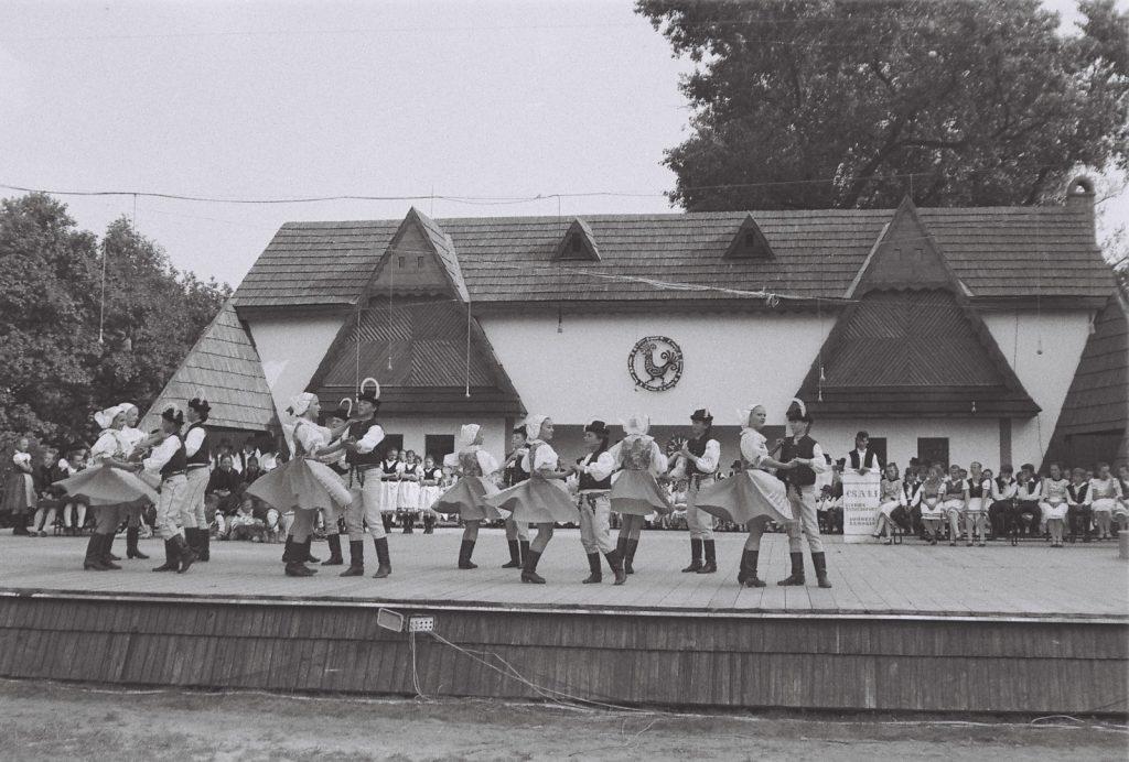 Kopaničiarik Gyermektánccsoport, Myjava. (XXXII. Országos Népművészeti Fesztivál)